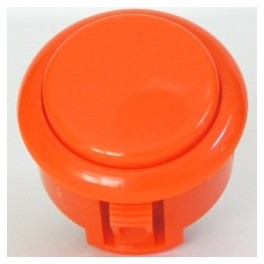 Sanwa Button OBSF-30-O (Orange)