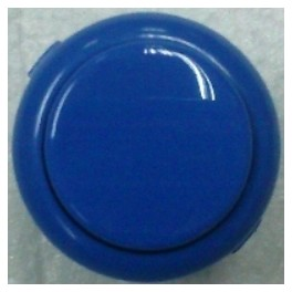 Sanwa Button OBSF-30-DB (Dark Blue)