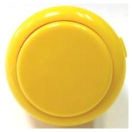Sanwa Button OBSF-30-Y (Yellow)