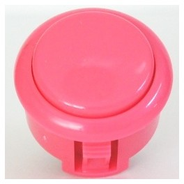 Sanwa Button OBSF-30-Pink (Pink)
